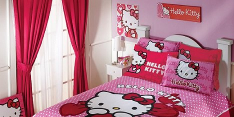 Decora tu habitación de Hello Kitty