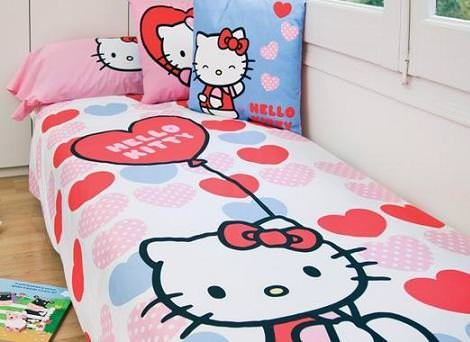 hello kitty: Camas hello kitty