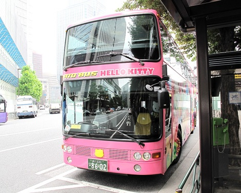autobus hello kitty  - El autobús turístico de Hello Kitty