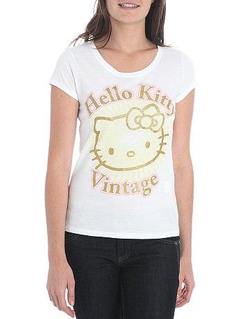 Camiseta Hello Kitty mujer