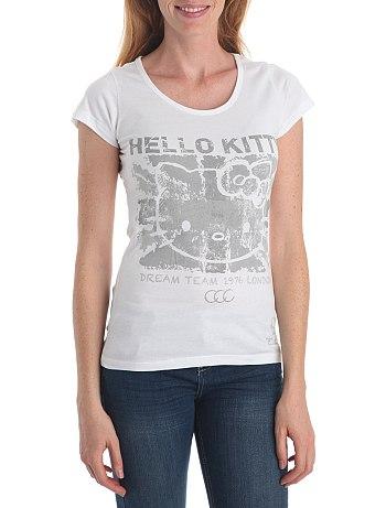 Camiseta Kitty mujer