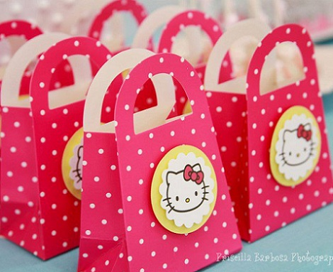 hello kitty cumpleanos bolsas  - Hello Kitty cumpleaños