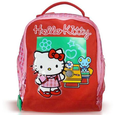 mochila hello kitty colegio