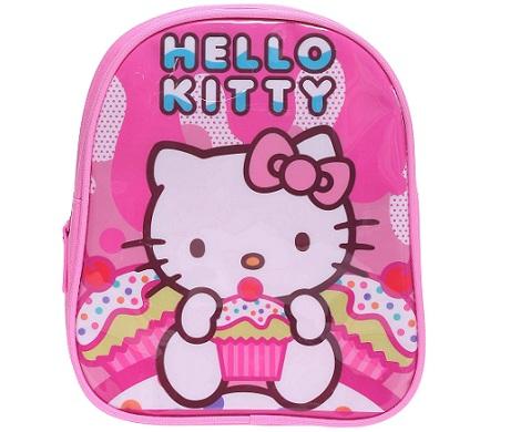 mochila hello kitty kiabi rosa detalle  - Mochila Hello Kitty Kiabi