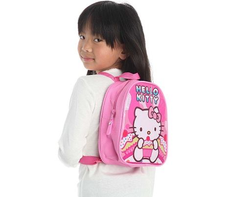 mochila hello kitty kiabi rosa