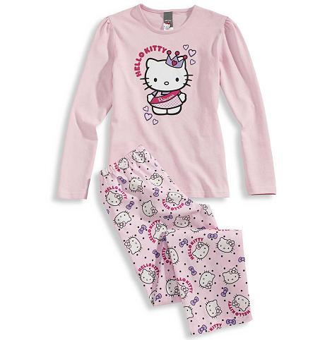 pijama hello kitty princesa