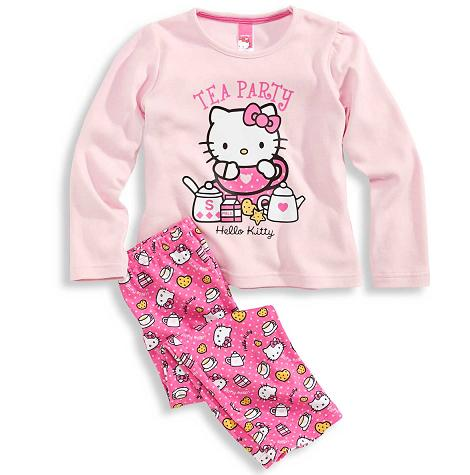 pijamas hello kitty niña