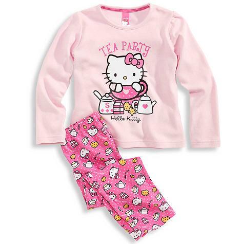 pijamas hello kitty niña