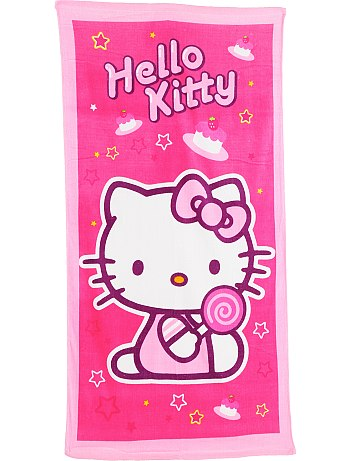 toallas de Hello Kitty