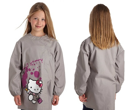 delantal hello kitty detras