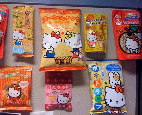 fotos divertidas hello kitty chuches
