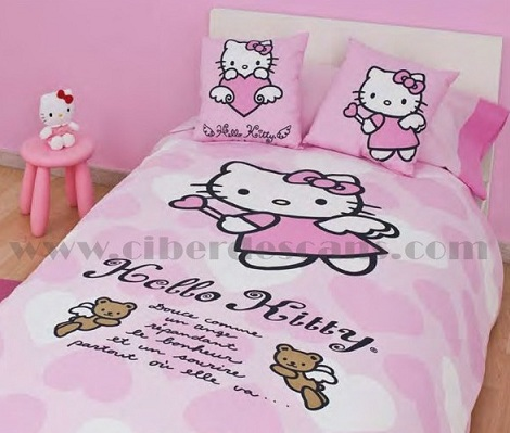fundas nórdicas hello kitty