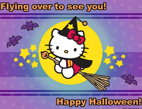 hello kitty halloween bruja  - Hello Kitty Halloween