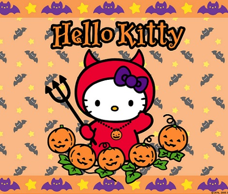 hello kitty halloween diablo