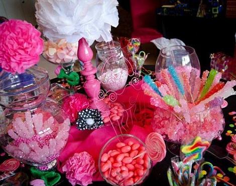 ideas cumpleaños hello kitty dulces