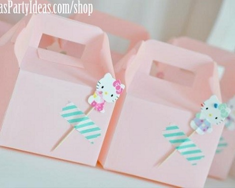 ideas fiesta hello kitty bolsas