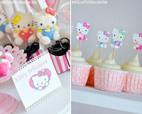 ideas fiesta hello kitty chuches