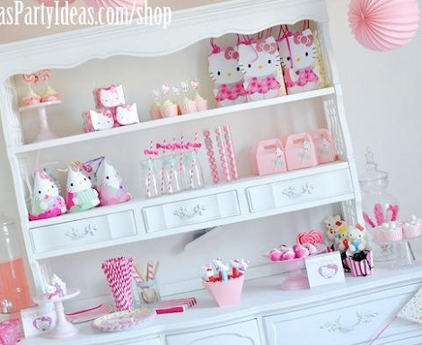 ideas fiesta hello kitty mesa