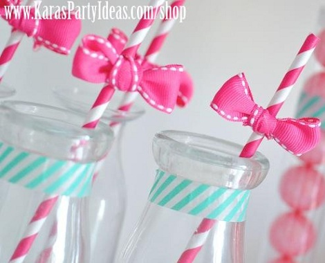 ideas fiesta hello kitty pajitas