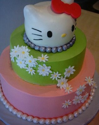 ideas hello kitty tarta cabeza
