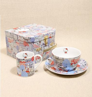 Juego de desayuno Hello Kitty  - Tazas de Hello Kitty