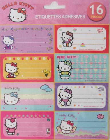pegatinas infantiles hello kitty  - Pegatinas infantiles de Hello Kitty
