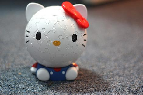 Puzzle original Hello Kitty