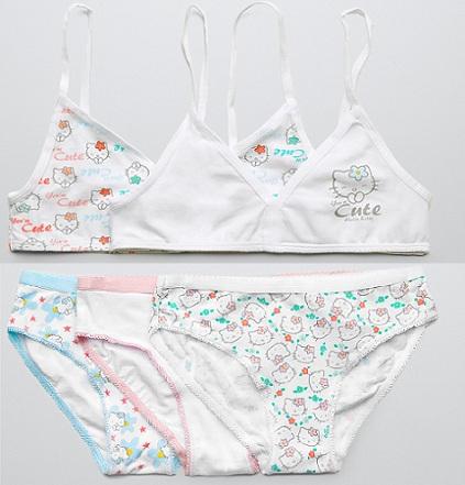 ropa interior zara niña  - Ropa interior de Hello Kitty para niña