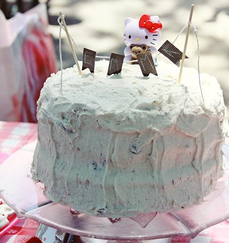 Tarta Hello Kitty  - Hello Kitty: ¡fiesta!