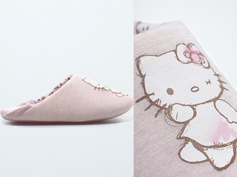 zapatillas hello kitty lateral