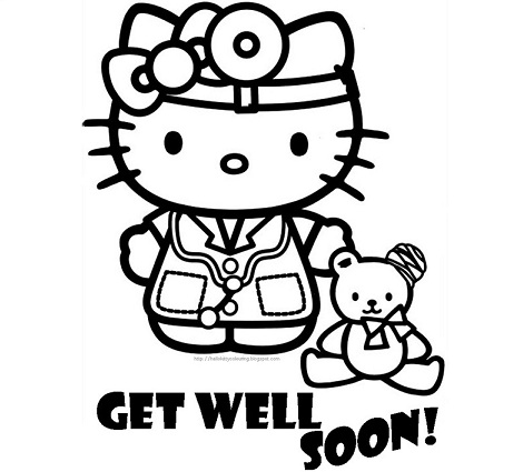 6 dibujos de hello kitty imprimir gratis medico