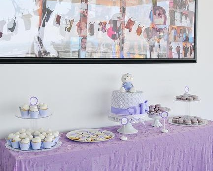 baby shower hello kitty mesa dulces