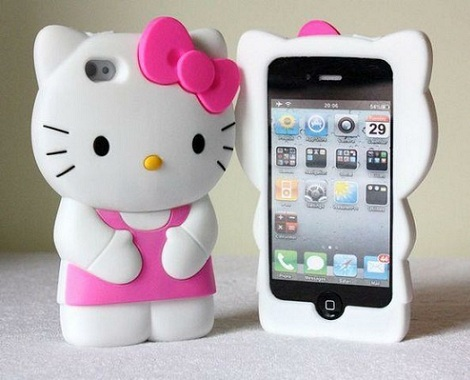carcasas hello kitty originales 3d