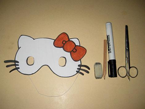 Careta de Hello Kitty