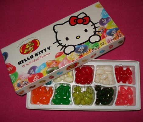 Chucherías de Hello Kitty gominolas
