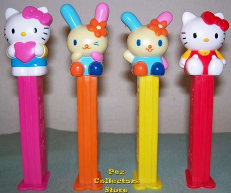 chucherias hello kitty pez