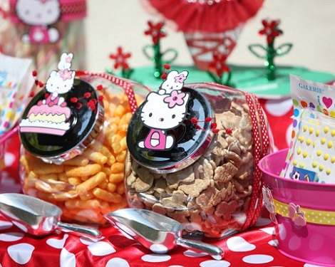 cumpleaños un año hello kitty gallegas  - Cumpleaños de un año de Hello Kitty
