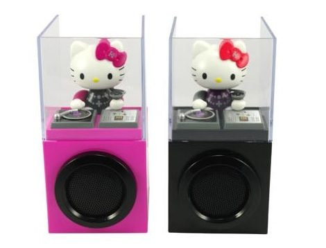 fotos hello kitty originales ipod speaker  - Objetos curiosos de Hello Kitty