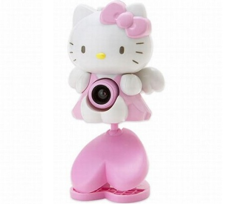 fotos hello kitty originales webcam  - Objetos curiosos de Hello Kitty