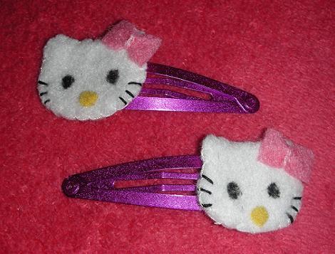 Hello Kitty de fieltro
