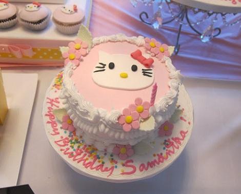 ideas cumpleaños hello kitty nata