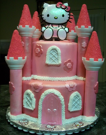 ideas tarta hello kitty castillo