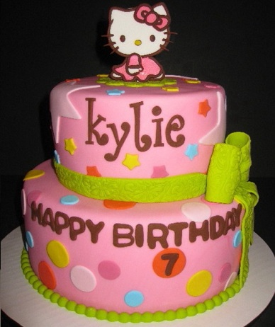 Ideas tarta hello kitty colores
