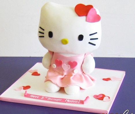 ideas tarta hello kitty cuerpo