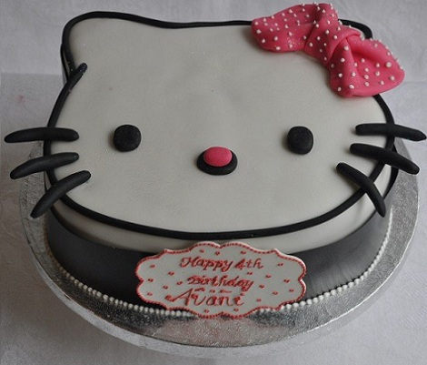 ideas tarta hello kitty lazo