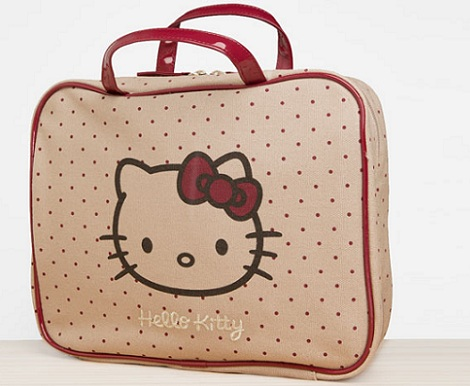 neceser hello kitty lunares