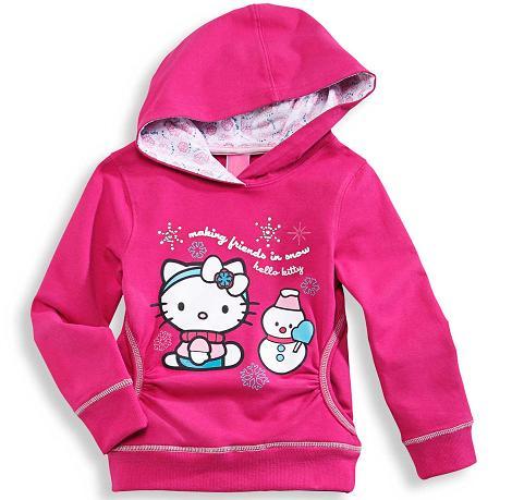 ropa hello kitty abrigo
