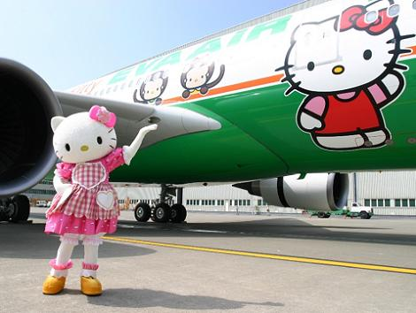 Hello Kitty avión  - Hello Kitty: 8 fotos