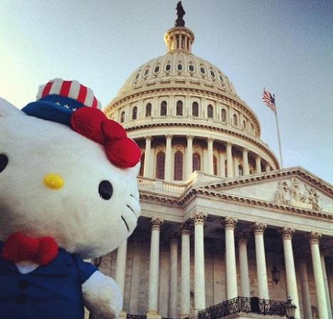 hello kitty washington capitolio