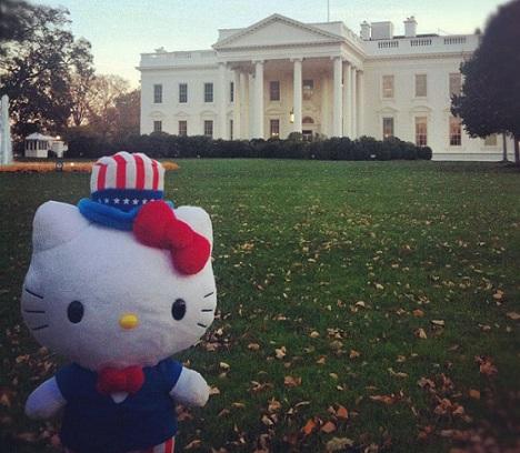 hello kitty washington casa blanca